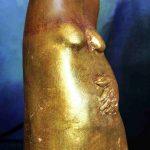 Goldwandung Keramik/Kaltbemalung