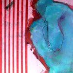 Gebeugt Acryl auf Leinwand 2020 80×100